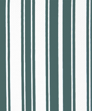 Tillett Textiles Evergreen Stripe Deep sea
