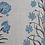 Thumbnail: MUGHAL FLORAL Blue UK Natural Linen