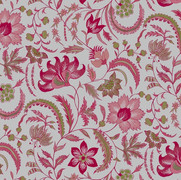 Floral Scroll Pink Oyster