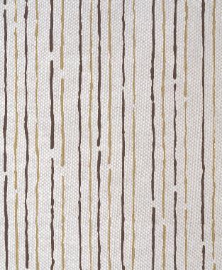 Tillett Textiles Sumac Lines Khaki & Cocoa