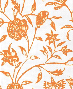 Tillett Textiles Balinese Carrot