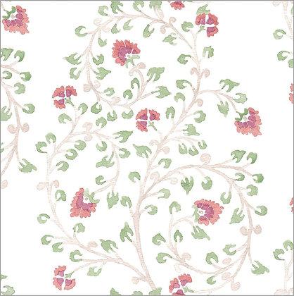 Ferran Textiles Wallpaper Indienne Henna