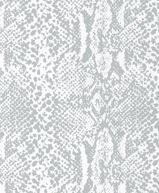 Tillett Textiles Snakeskin Metallic Silver
