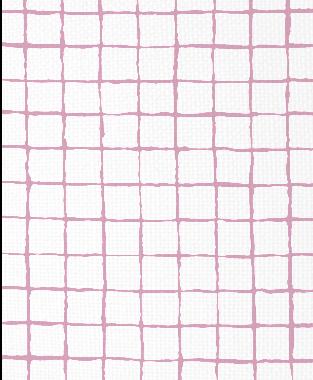 Tillett Textiles Grid Alert Pink Pansey