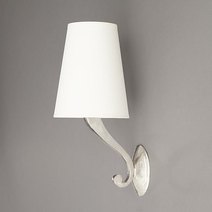 Linda wall lamp Nickle