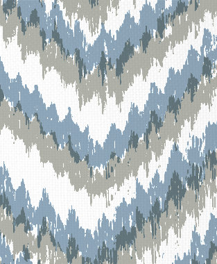 Tillett Textiles Ikat Timer Sea Haze & JD Blue