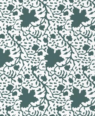 Tillett Textiles Seagrapes Deep sea