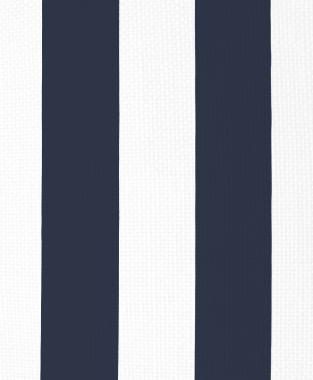 Tillett Textiles Vertical Stripe Navy