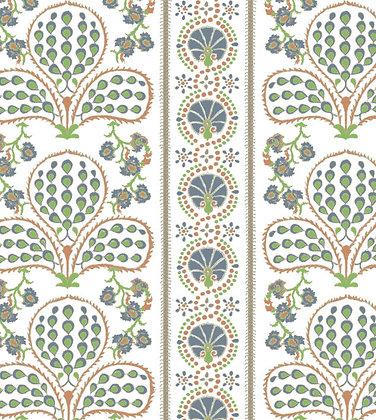 Ferran Textiles Ottoman Navy