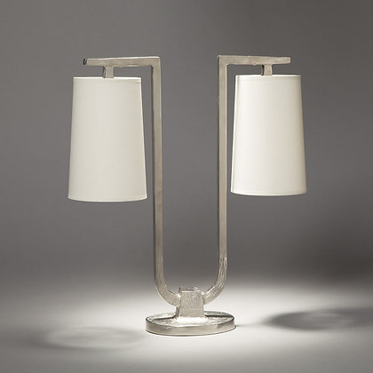 Gustave lamp Nickle