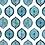 Thumbnail: OTTOMAN OGIVAL Sapphire UK Natural Linen