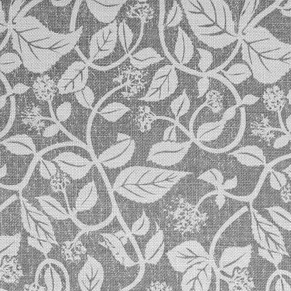 Madder Cutch & Co Creeping Ivy Slate on Natural
