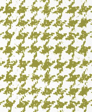 Tillett Textiles Houndstooth Forest Moss