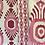 Thumbnail: IKAT MINI Berry UK Natural Linen