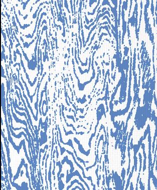 Tillett Textiles Woodgrain Blue Lapis