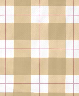 Tillett Textiles Burton Plaid Pink Pansey & Khaki