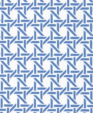 Tillett Textiles Cane Blue Lapis