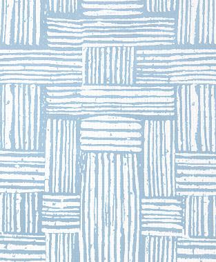 Tillett Textiles Basket Weave Sky