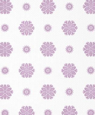 Tillett Textiles Florette Violet