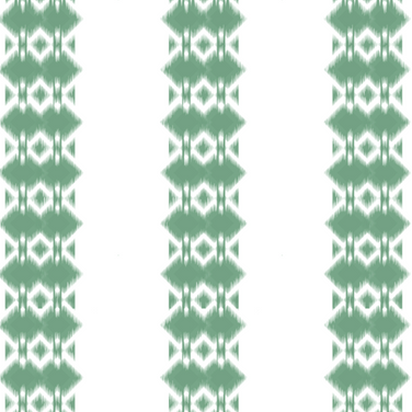 Ikat Forest Green