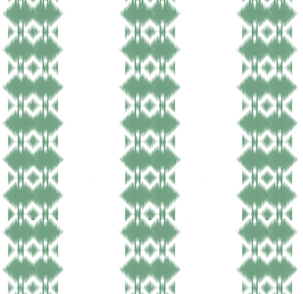 Behl Designs Ikat Forest Green
