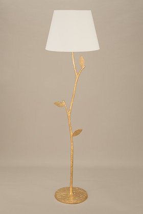Gold Floor Lamp Flora