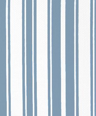 Tillett Textiles Evergreen Stripe JD Blue