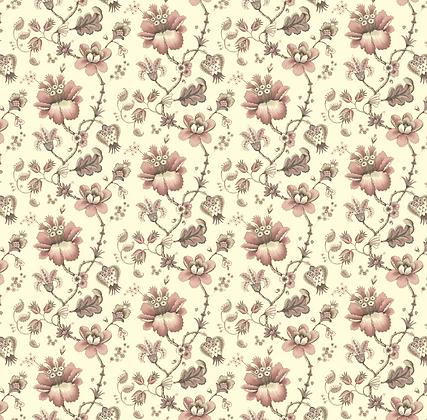 Stoke Lane Francis Floral Pink
