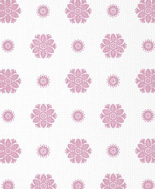 Tillett Textiles Florette Pink Pansey