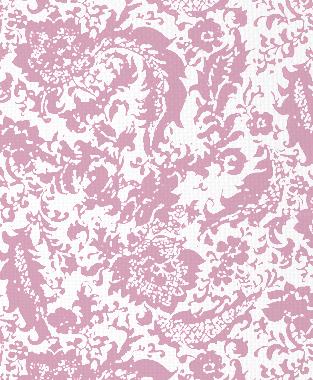 Tillett Textiles Victoria Rose Pink Pansey