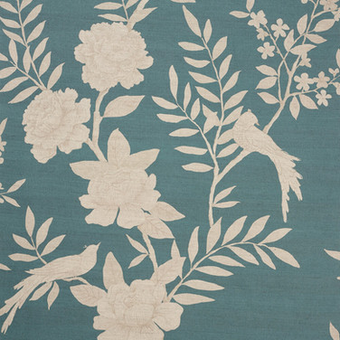 Chinoiserie After Dark Arles Blue