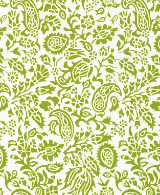 Tillett Textiles Flora Devonshire Dark Lime
