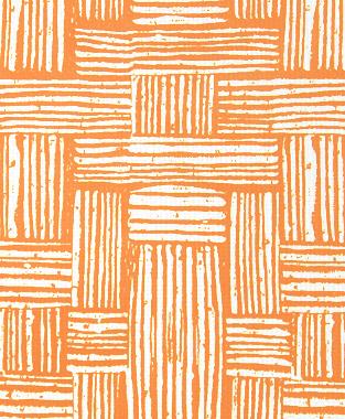 Tillett Textiles Basket Weave Carrot