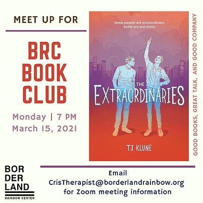 The Extraordinaries book social media (1