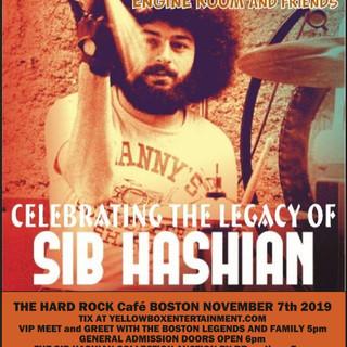 Sib Hashian foundation concert
