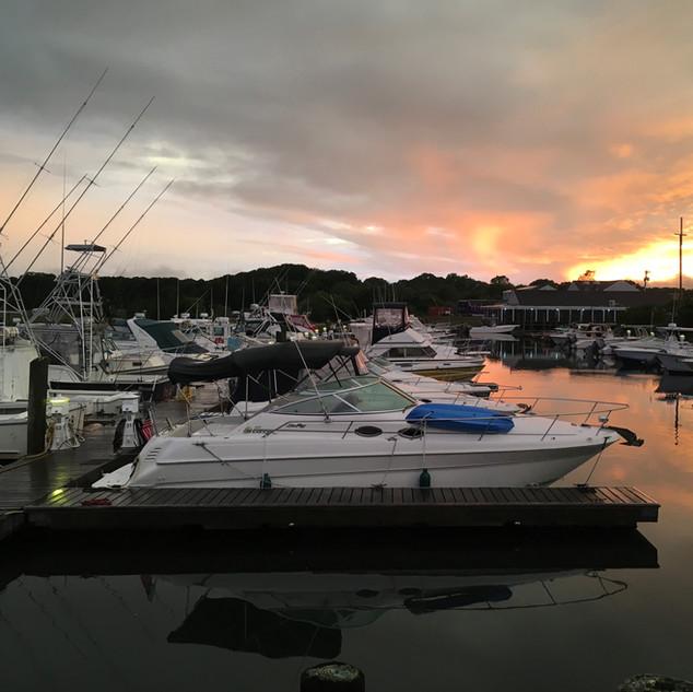 Morning at The Marina