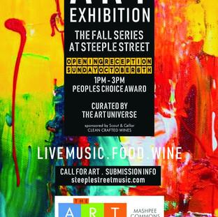 Art exhibition at Steeple Street