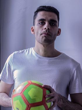 Amir Hossein Ezatollah Pour in Checkpoin
