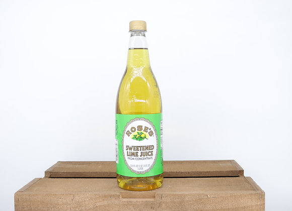 Roses Sweetened Lime Juice 1.0L