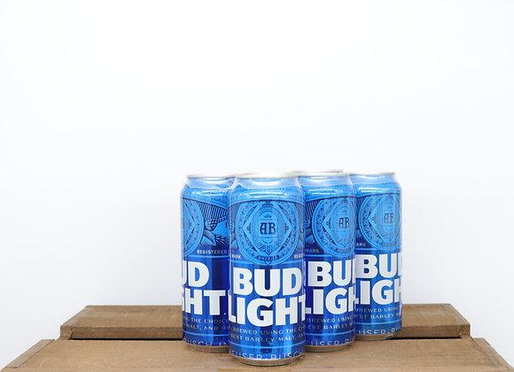 Bud Light 16oz Cans 6-pack