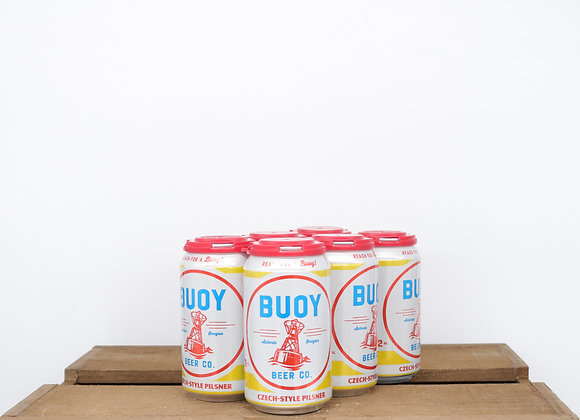 Buoy Czech-Style Pilsner 12oz cans 6-pack