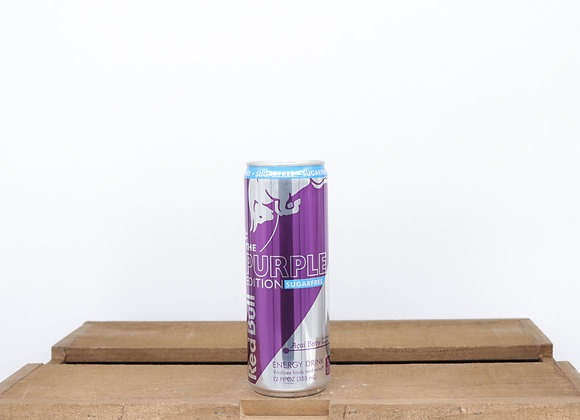 Red Bull Sugar Free Purple Edition Acai Berry 12 fl oz 355ml