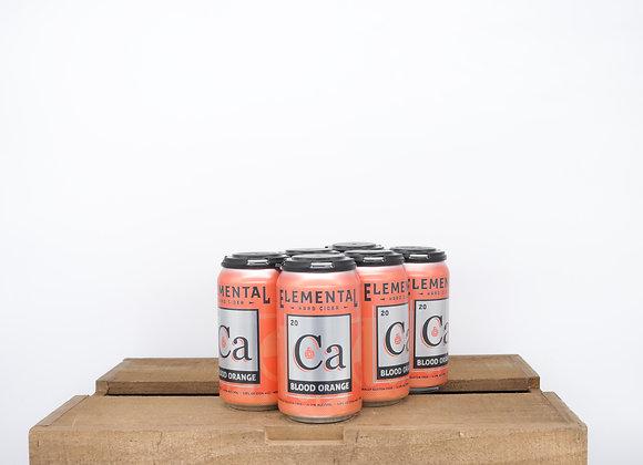 Elemental Blood Orange Cider