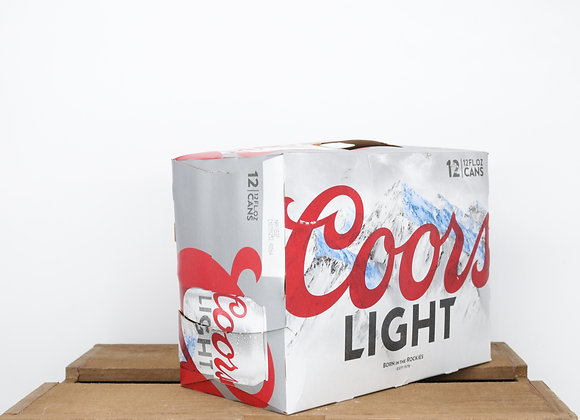 Coors Light 12oz Cans 12-pack