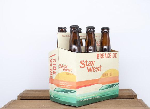 Breakside Stay West IPA 12oz bottles 6-pack