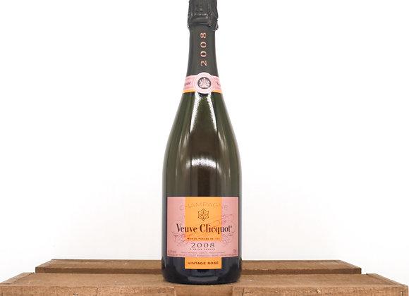 Veuve Clicquot Vintage Rose Champagne 2008