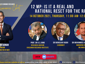 """Free Webinar: """"12th Malaysia Plan: Is it a Real and Rational Reset for the Rakyat?"""""""
