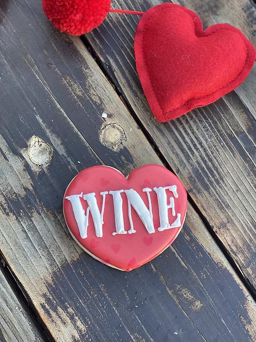 Wine single sassy cookie