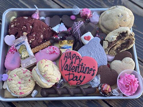 Valentine sweets grazing box