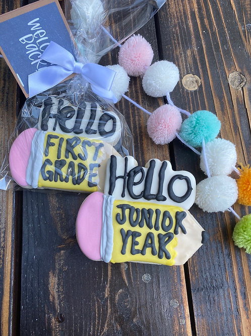 "BTS ""Hello --- grade"" cookie"